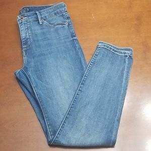 Lucky Brand Mid Rise Hayden Skinny Jeans